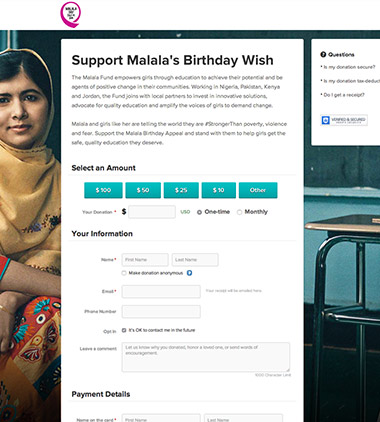 Malala Fund - Malala Day thumbnail