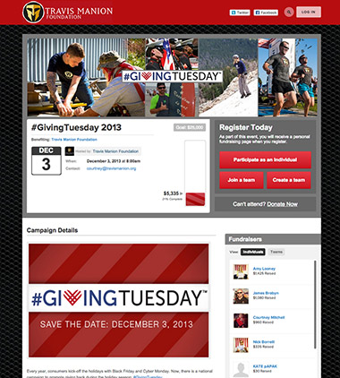 Travis Manion Foundation - Giving Tuesday thumbnail