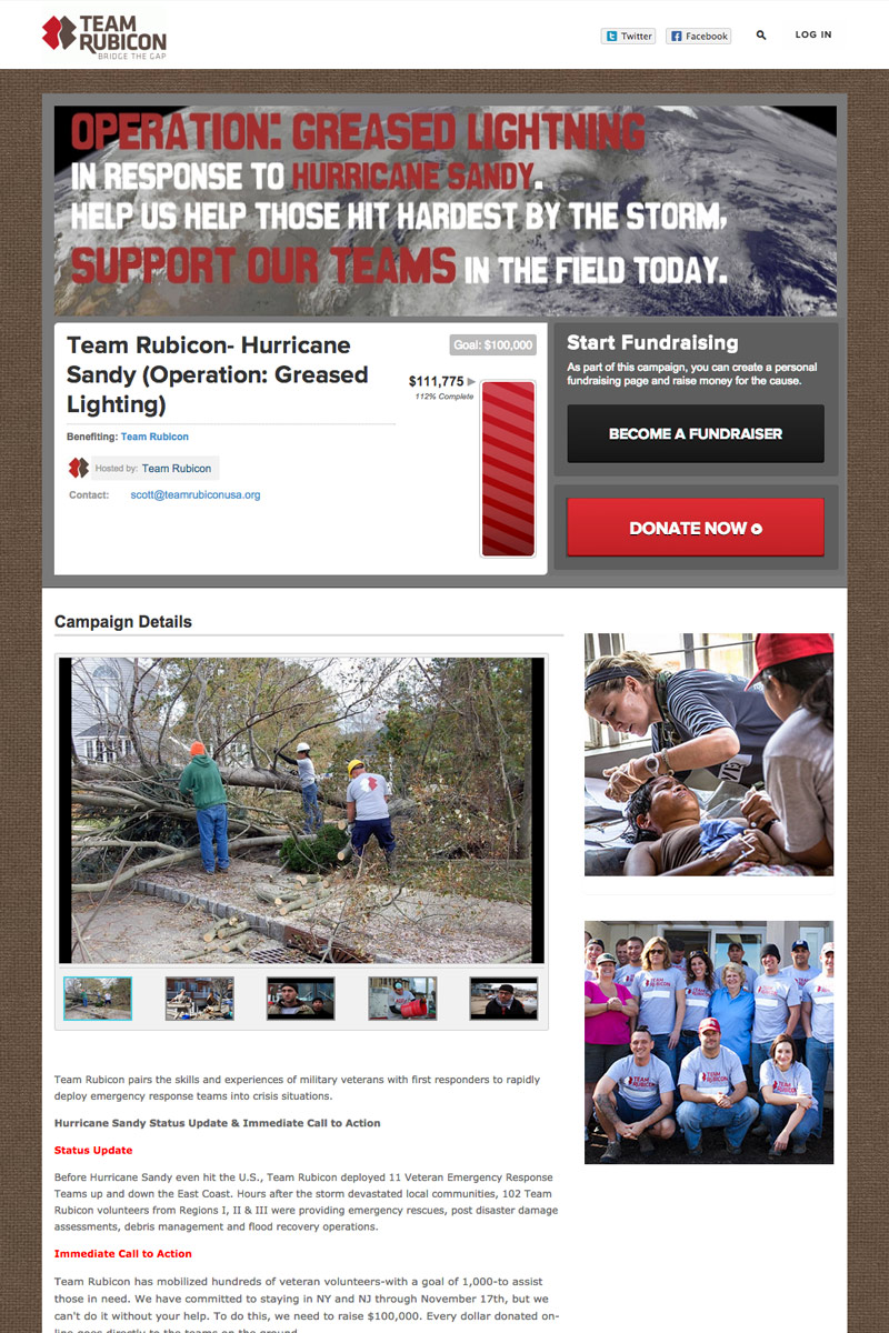 Team Rubicon screenshot