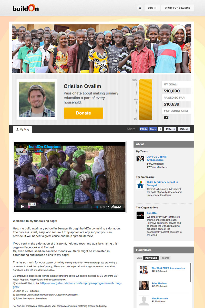 buildOn screenshot
